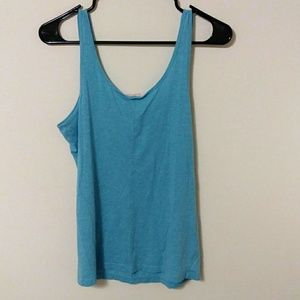 Victoria's Secret Tops - SALE! 3/$10 Victoria's Secret blue tank top large